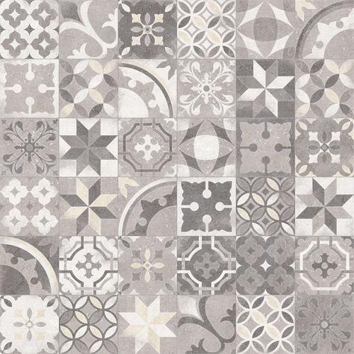 Carrelage en patchwork motif ancien 20x20 cm Berkane Multicolor -   - Echantillon - zoom