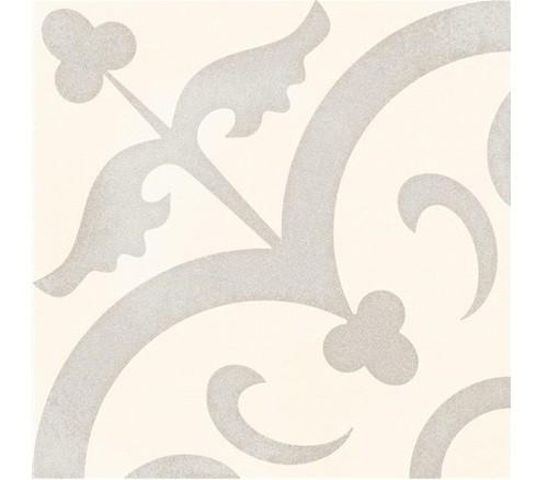 Carrelage imitation ciment pastel 20x20 cm HALVMANE antidérapant R10 -   - Echantillon - zoom