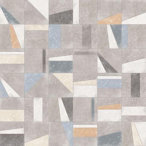 Carrelage motifs anciens 20x20 cm Osaka Multicolor -   - Echantillon - zoom