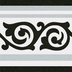 Carrelage imitation ciment 20x20 cm GIBERT-2 FRISE -   - Echantillon Vives Azulejos y Gres