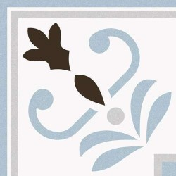 Carrelage imitation ciment 20x20 cm VALVANERA-3 ANGLE - 1 unité - Echantillon Vives Azulejos y Gres