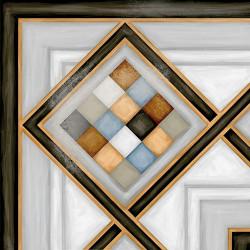 Carrelage d'angle style ciment 20x20 cm POMBO-3 - unité - Echantillon Vives Azulejos y Gres