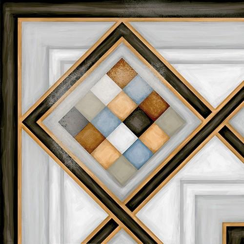 Carrelage d'angle style ciment 20x20 cm POMBO-3 - unité - Echantillon - zoom