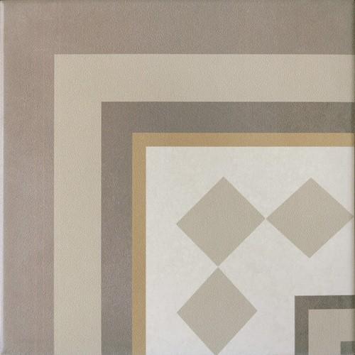 Carrelage imitation ciment beige taupe 20x20 cm CAPRICE LOIRE ANGLE 20937 - unité - Echantillon Equipe