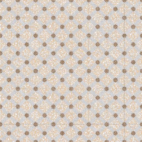 Carrelage imitation ciment 30x30 cm Mancini Beige anti-dérapant R10 - 0 - Echantillon - zoom