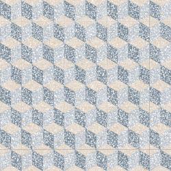 Carrelage imitation ciment 30x30 cm Cavour Azul anti-dérapant R10 -   - Echantillon Vives Azulejos y Gres