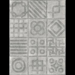 Carrelage imitation ciment 20x20 cm Paulista Cemento anti-dérapant R13 -   - Echantillon Vives Azulejos y Gres