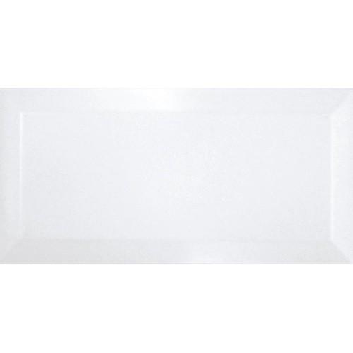 Carreau métro Blanc mate 7.5x15 cm -   - Echantillon Ribesalbes