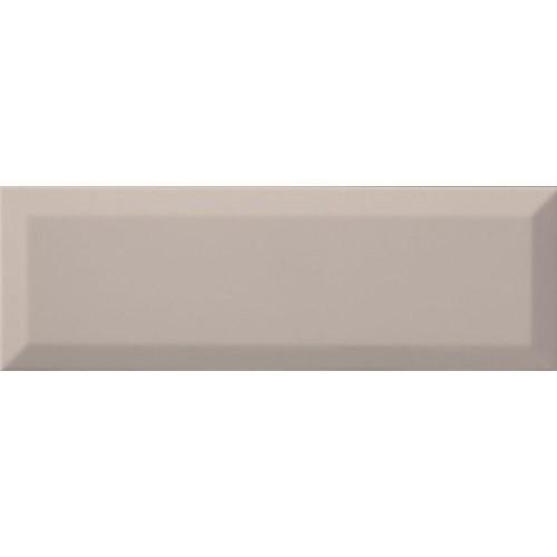 Carrelage métro biseauté 10x30 cm Coco Mat -    - Echantillon Ribesalbes