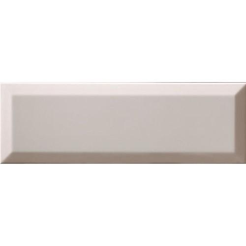 Carrelage métro biseauté 10x30 cm Coco Brillant -    - Echantillon Ribesalbes