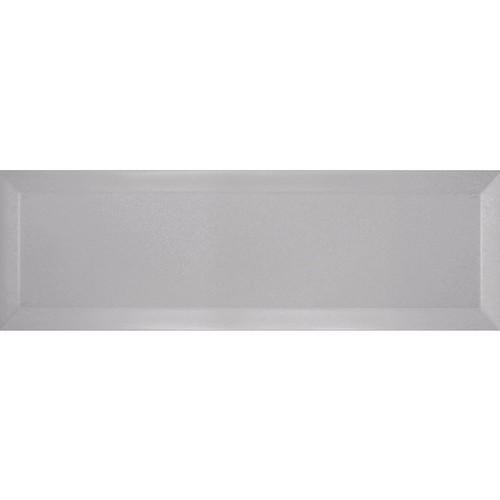 Carrelage métro biseauté gris 10x30 cm Perla Mat -    - Echantillon - zoom
