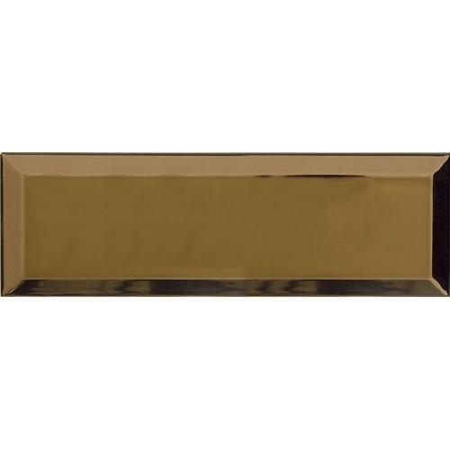 Carrelage Métro doré Or 10x30 cm - unité - Echantillon Ribesalbes