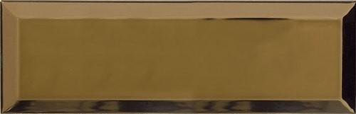 Carrelage Métro doré Or 10x30 cm - unité - Echantillon - zoom