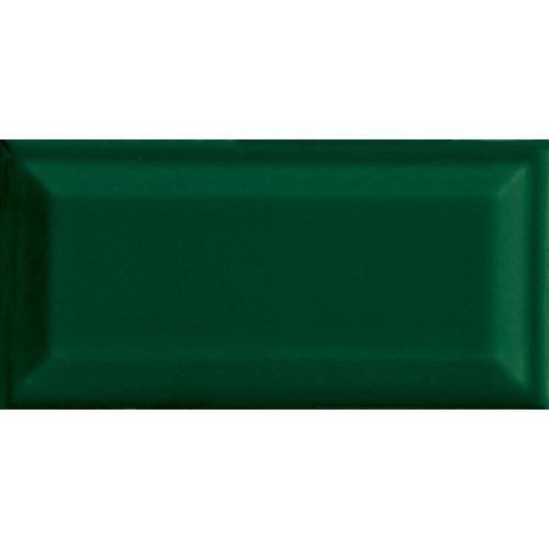 Carreau métro grès cérame vert RAME 7,5x15 cm -   - Echantillon - zoom
