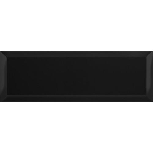 Carreaux Métro géants noir brillant 15x45 cm -   - Echantillon El Barco
