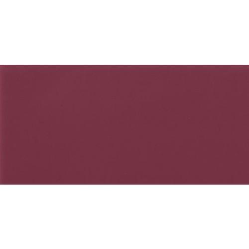 Carrelage Métro plat 10x20 cm amarante brillant FLAT MALVA BRILLO -   - Echantillon Ribesalbes