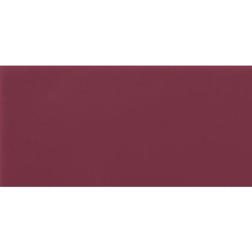 Carrelage Métro plat 10x20 cm amarante brillant FLAT MALVA BRILLO -   - Echantillon - zoom