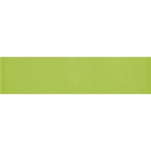 Carreau métro plat vert brillant 10x30 cm -     - Echantillon Ribesalbes