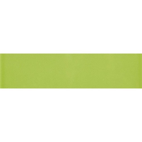 Carreau métro plat vert brillant 10x30 cm -     - Echantillon - zoom