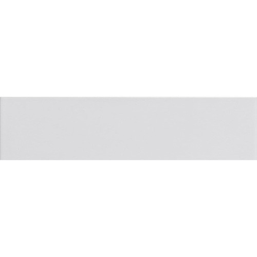 Carreau métro plat blanc mat 10x30 cm -     - Echantillon Ribesalbes