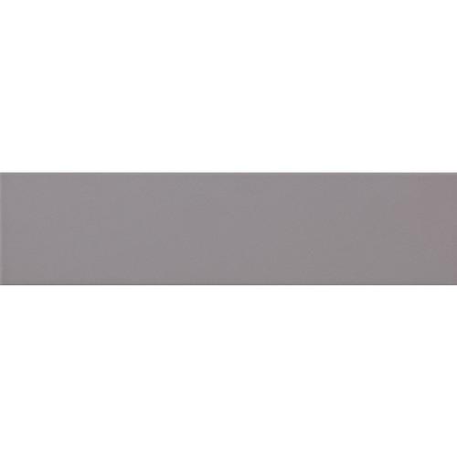 Carreau métro plat gris perle brillant 10x30 cm -     - Echantillon - zoom