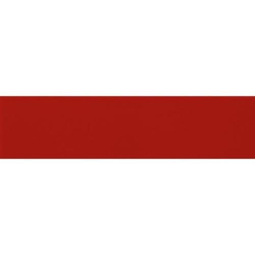 Carreau métro plat rouge mat 10x30 cm -     - Echantillon Ribesalbes