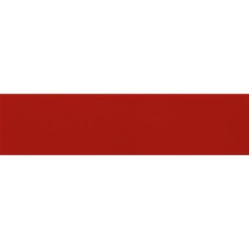 Carreau métro plat rouge mat 10x30 cm -     - Echantillon - zoom