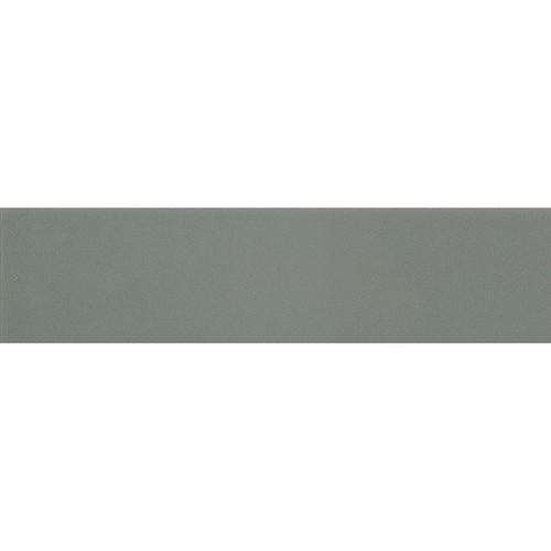Carreau métro plat vert cendré brillant 10x30 cm Sage -     - Echantillon - zoom