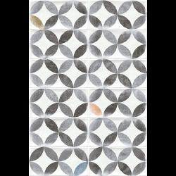 Faience murale patinée multicolore AMHARA 10x20cm -   - Echantillon Vives Azulejos y Gres