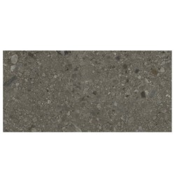Carrelage mat style pierre 60x120cm HANNOVER BLACK R10 -   - Echantillon Baldocer