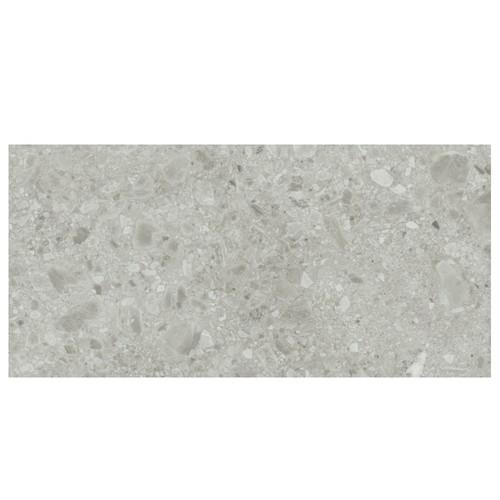 Carrelage gris imitation pierre 60x120cm HANNOVER STEEL R10 -   - Echantillon Baldocer