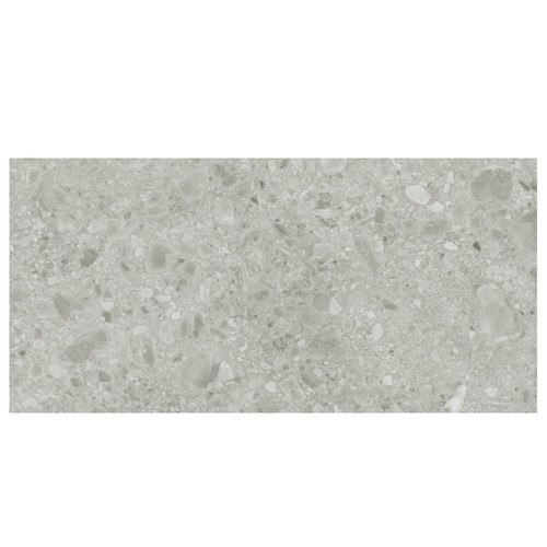 Carrelage gris imitation pierre 60x120cm HANNOVER STEEL R10 -   - Echantillon - zoom