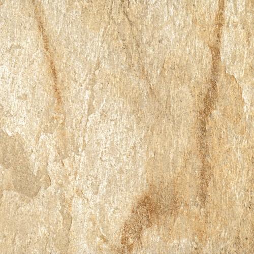 Carrelage piscine effet pierre naturelle QUARTZ GOLD 45.8x45.8 cm -    - Echantillon Coem ceramiche