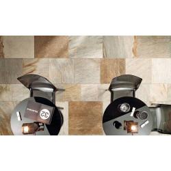 Carrelage effet pierre quarzite STONE-D MULTICOLOR 60x60cm rect. -   - Echantillon ItalGraniti