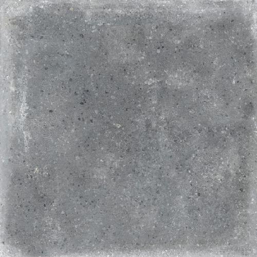 Carrelage uni patiné anthracite 20x20 cm Orchard Grafito anti-dérapant R13 -   - Echantillon - zoom