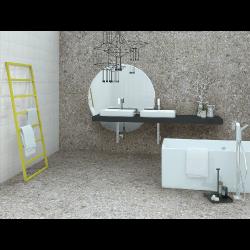 Carrelage imitation ciment 60x60 cm CEPPO DI GRE Cemento R09 -   - Echantillon Vives Azulejos y Gres