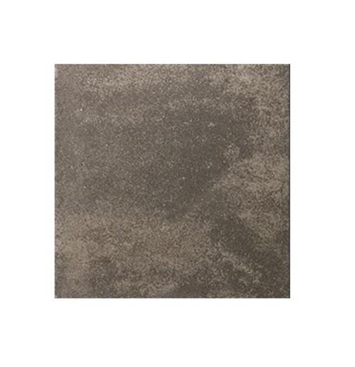 Carrelage pierre reconstituée TESSERA anthracite 50x50x2.5 cm -   - Echantillon - zoom