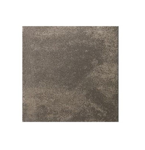 Carrelage pierre reconstituée TESSERA anthracite 40x40x2.5 cm -   - Echantillon - zoom
