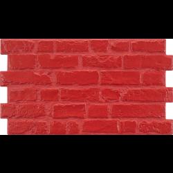 Parement mural cérame style pierre 31X56 cm MANHATTAN Rojo (rouge) -    - Echantillon Realonda