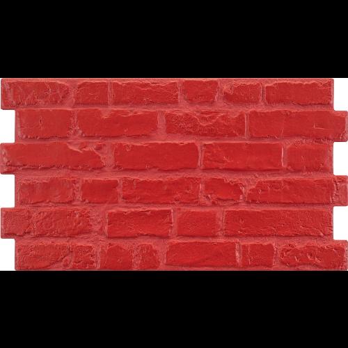 Parement mural cérame style pierre 31X56 cm MANHATTAN Rojo (rouge) -    - Echantillon - zoom