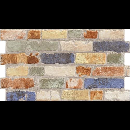Parement mural cérame style pierre 31X56 cm MANHATTAN Color -    - Echantillon - zoom