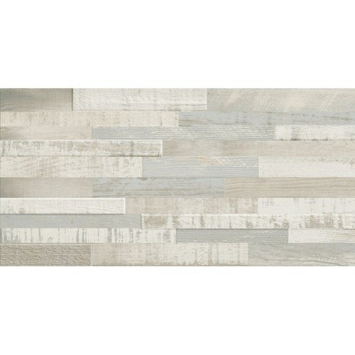 Carrelage imitation bois clair rect 30x60 DECK WISCONSIN SUMMER MIX -   - Echantillon Baldocer