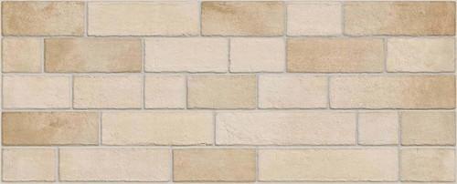 Parement mural briquettes beige Marlon Edale Arena 20x50cm -   - Echantillon - zoom