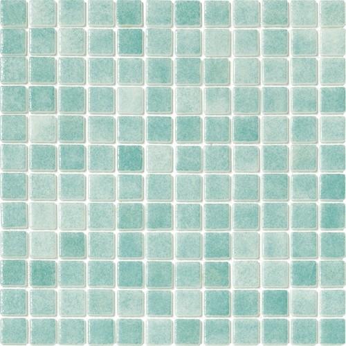 Mosaique piscine Nieve bleu vert caraibe 3057 31.6x31.6 cm -   - Echantillon - zoom