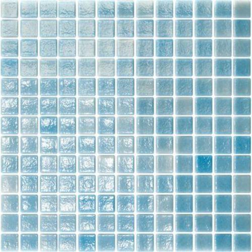 Mosaique de piscine bleue ciel LIMPIA 33.4x33.4 cm -   - Echantillon - zoom