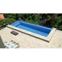 Mosaique piscine Nieve bleu azur 3003 31.6x31.6 cm -   - Echantillon AlttoGlass