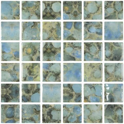 Mosaique piscine penta rodas 2003561 3 x3  cm -    - Echantillon - zoom