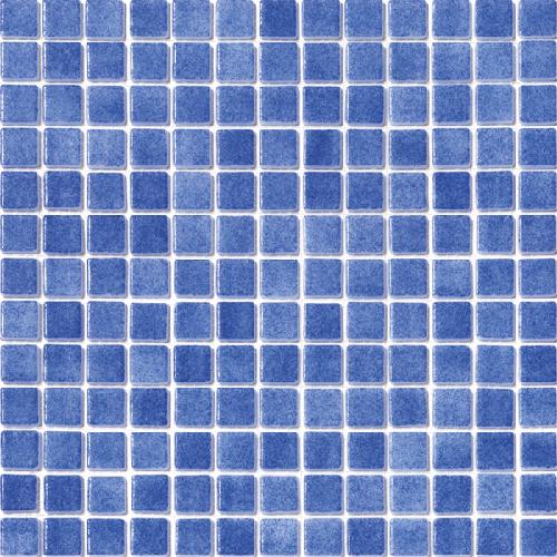 Mosaique piscine émaux de verre BLEU FOG 31.6x31.6 cm -   - Echantillon - zoom