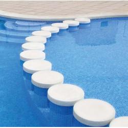 Mosaique piscine émaux de verre BLEU FOG 31.6x31.6 cm -   - Echantillon ASDC