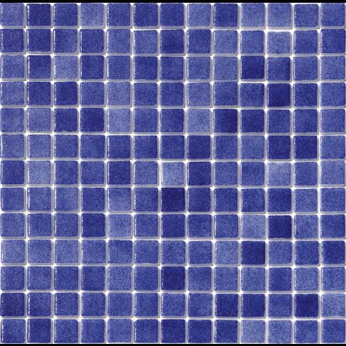 Mosaique piscine Nieve bleu marine azul antidérapant 3102 31.6x31.6cm -   - Echantillon - zoom